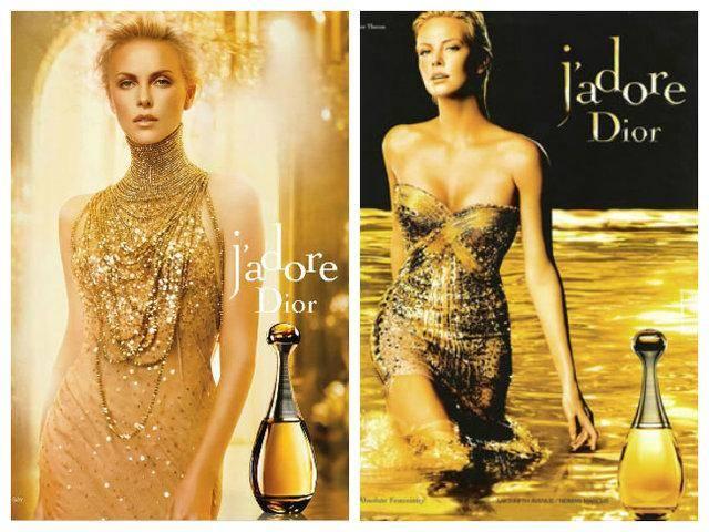 香水女神查理兹·塞隆再拍Dior广告,戴重金属项链,气质美炸