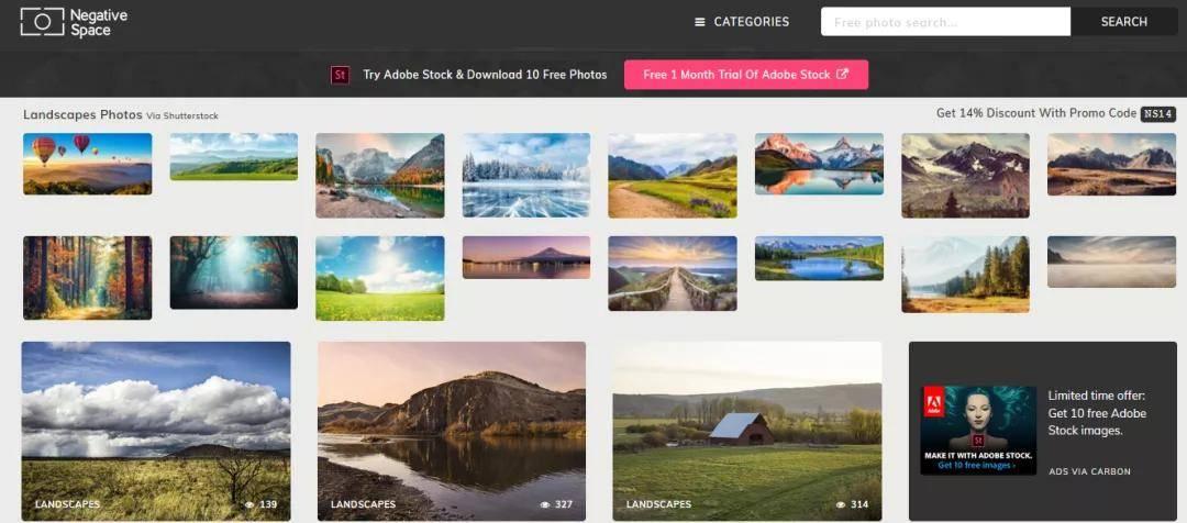 收藏必备   10个免费高清无版权图片网站,让你从此告别图片侵权困扰!
