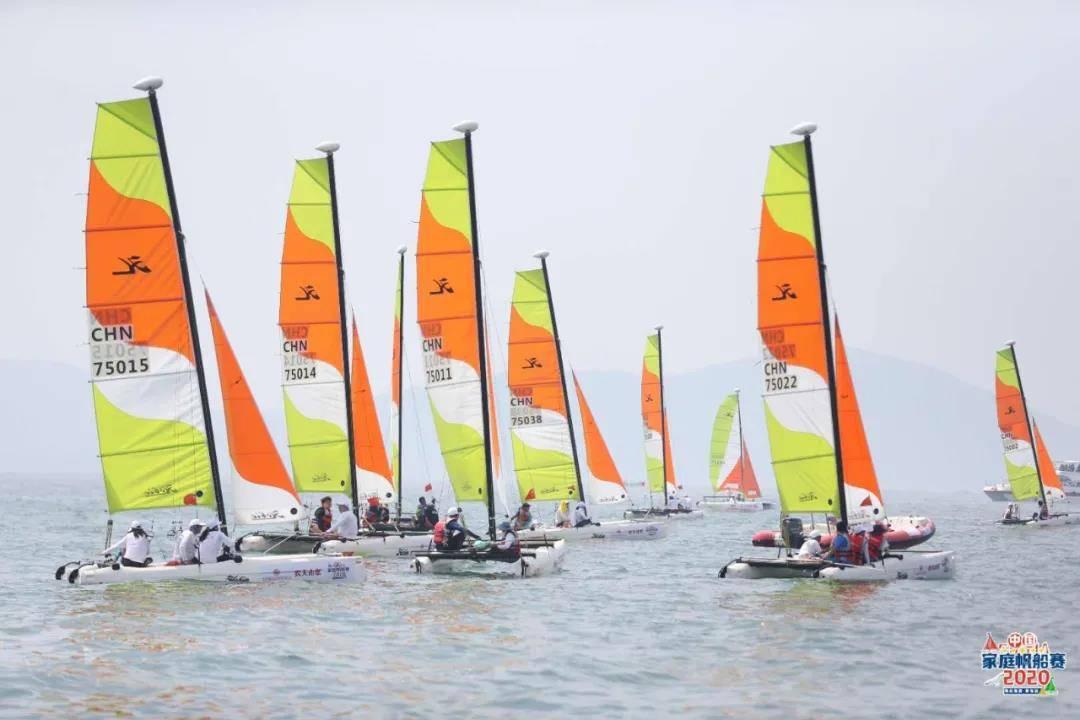 帆船进校园在青岛开花结果!2020中国家庭帆船赛收官