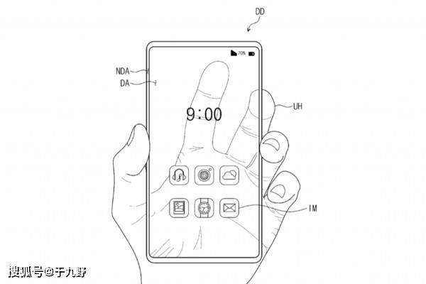 """原创            三星""""全透明手机""""专利曝光!外媒放出渲染图"""