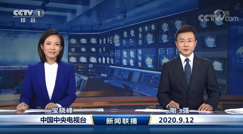 包晓峰登上新闻联播,新人新面貌,端庄
