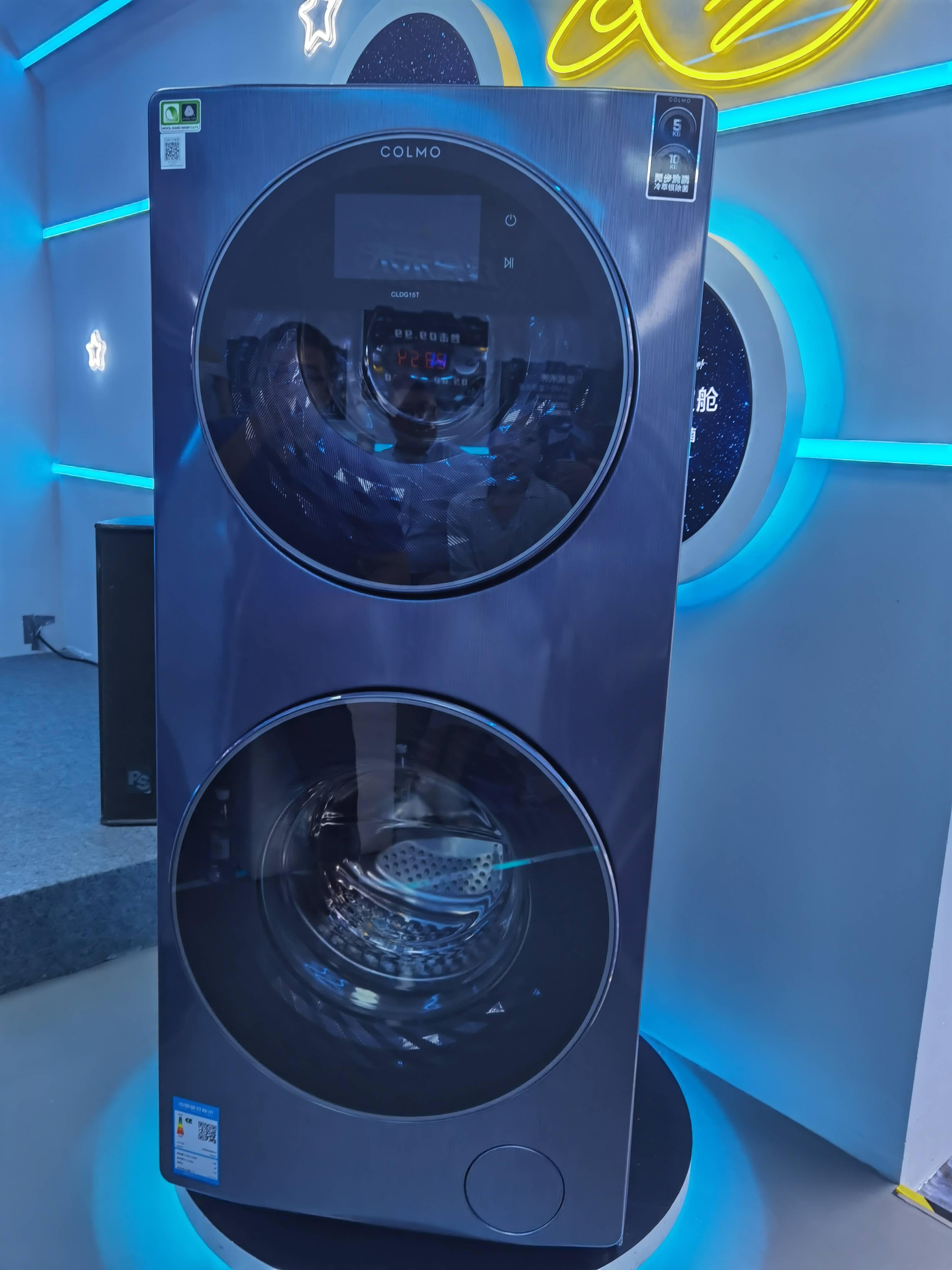 洗衣机市场的消费升级还在继续这给了众多到场厂商新的时机