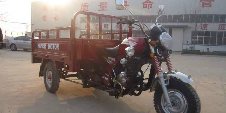 三轮摩托车要用来拉货,
