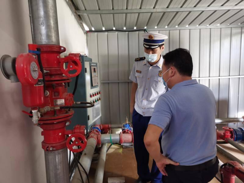 荆门:消防联合来检查养老院里除隐患