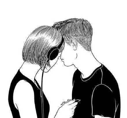 男女之间有长久的感情,但也有半途而废