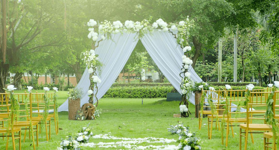 成都三圣乡居然隐藏着一个这么美的婚宴场地,浪漫,温馨!