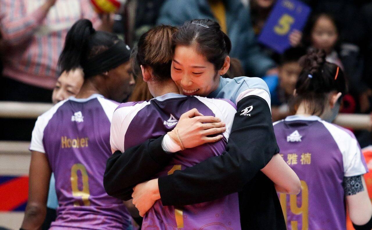 李盈莹助阵女排迎来新角色 盘点全锦赛二十年冠亚季军