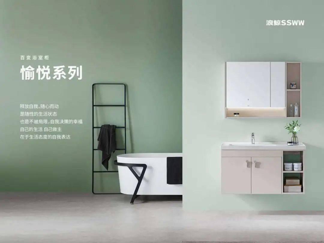 狼鲸卫浴宜人系列综艺浴室柜(BFJ1050