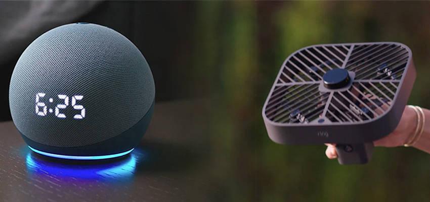 """亚马逊连夜甩出""""带把""""无人机、智能音箱全系…等7大硬件,一文看尽!"""