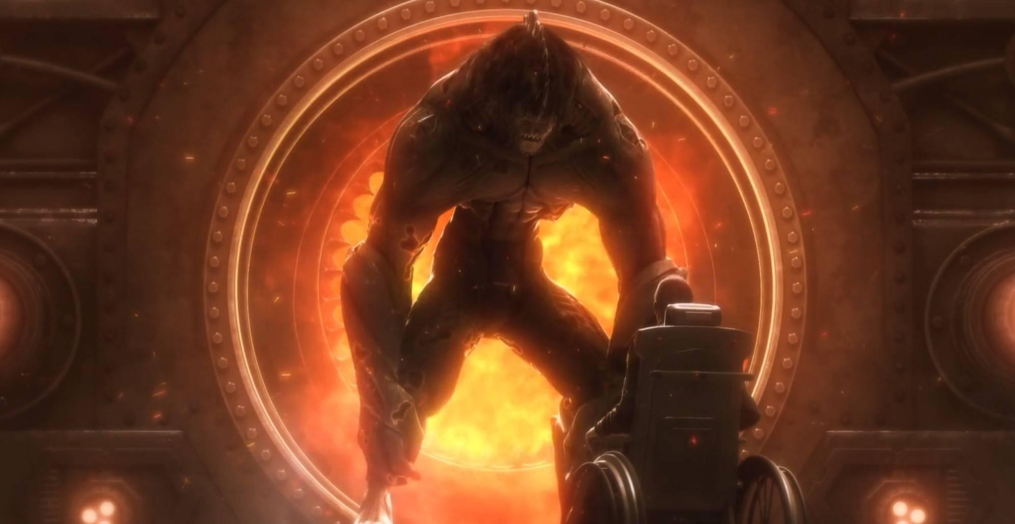 《灵笼》:脊蛊虫是人类进化失败的产物?马克队长在烈火中死而复生!