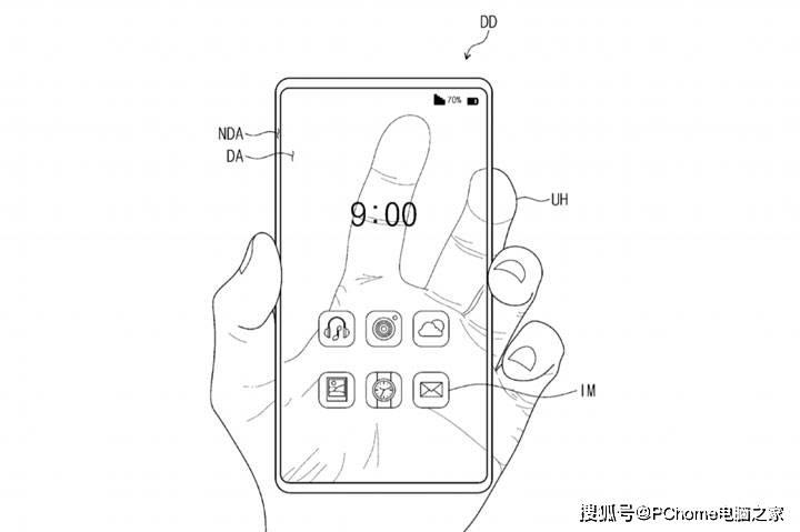 革新观念优美愿景 三星通明屏幕机型专利暴光