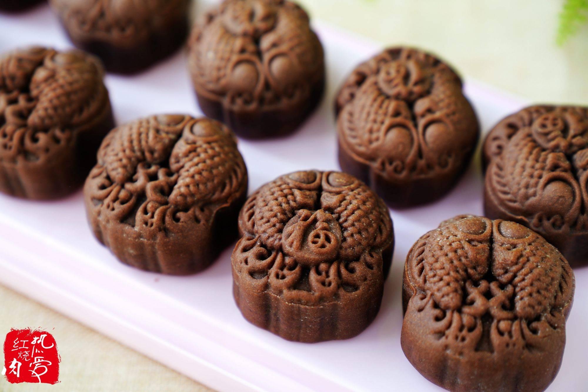 喜欢巧克力和椰蓉的试试这月饼,太香了!其它