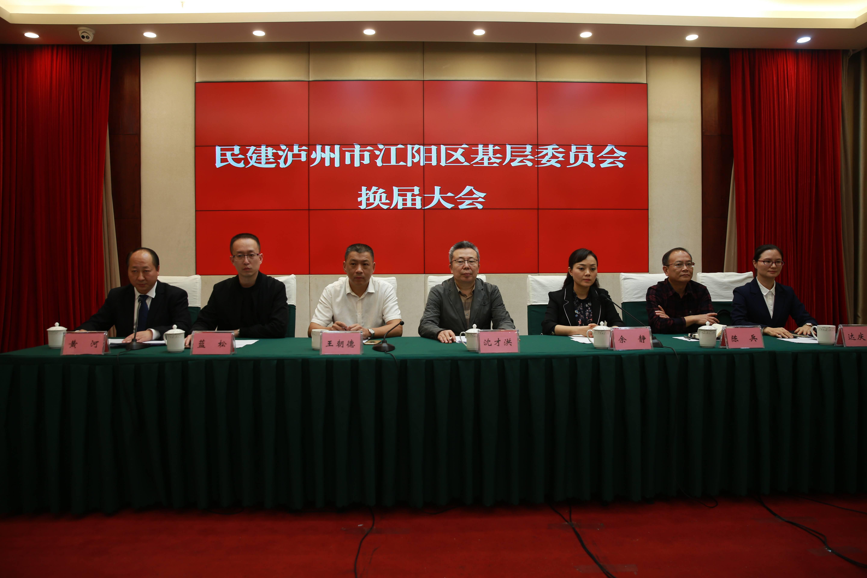 民建泸州市江阳区下层委员会完成换届选举事情