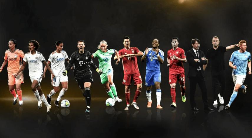 欧足联奖项一览:拜仁豪夺5项第一丁丁最好中场