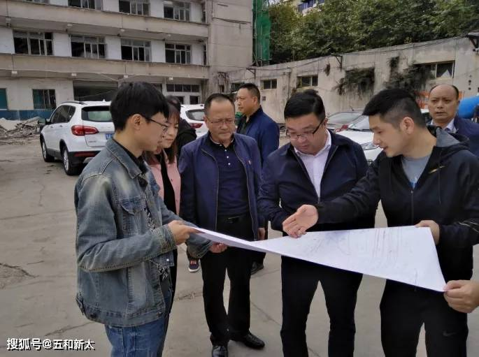 朱雅军带队调查公安大厦小区工程