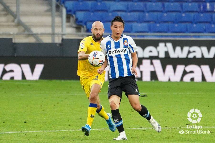 武磊半场被换下德托马斯制胜球 西班牙人1-0