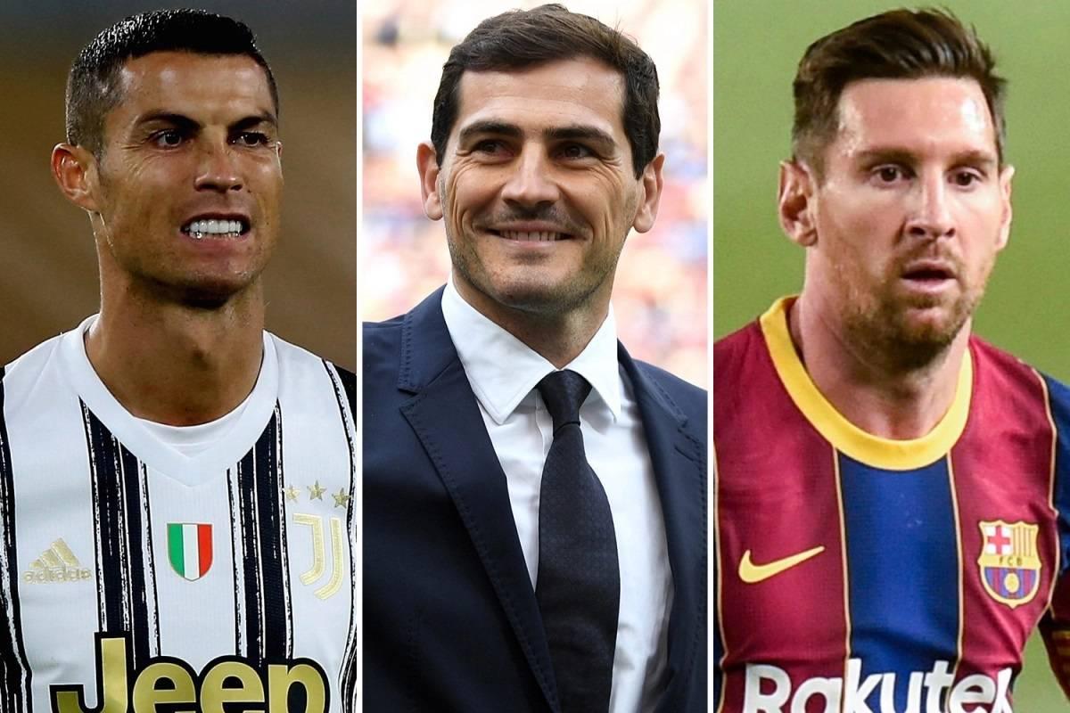 """卡西利亚斯:C罗比梅西更加优秀,因为他的成功 """"更令人印象深刻"""""""