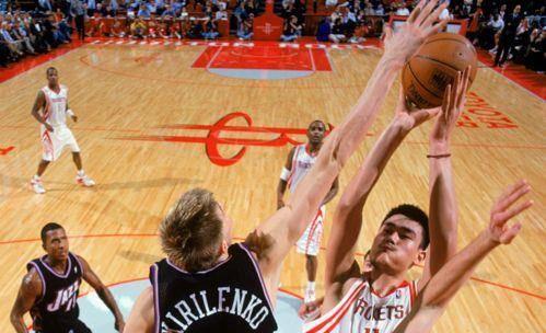 NBA历史四对奇迹:几乎都是中锋AK
