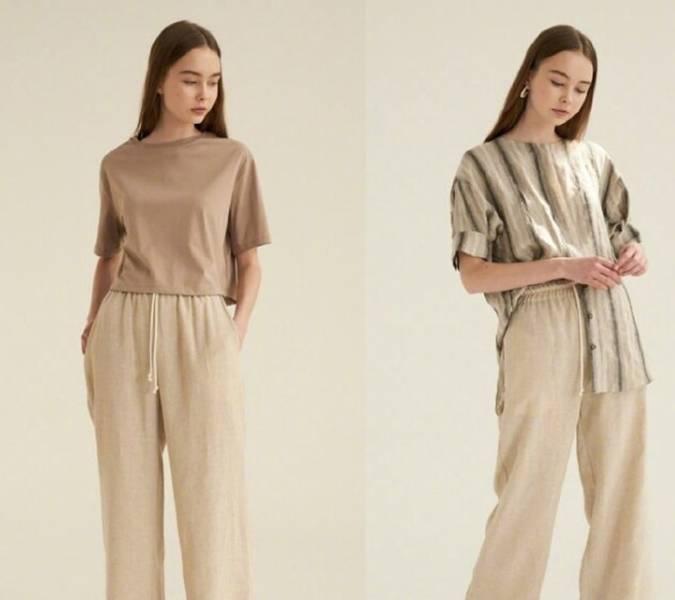 今年流行的简约舒适的款式 怎么穿才顺眼