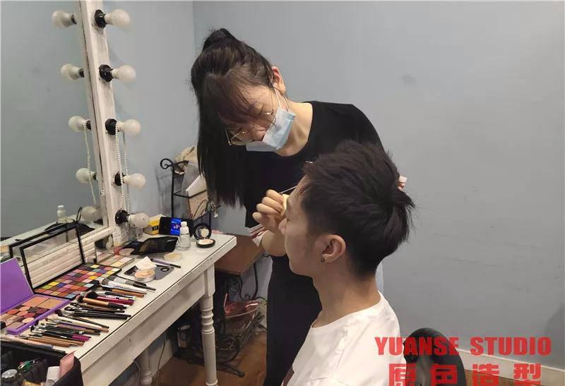 【化妆实践】9.29《黄海森林奇遇记》定妆照拍摄day1