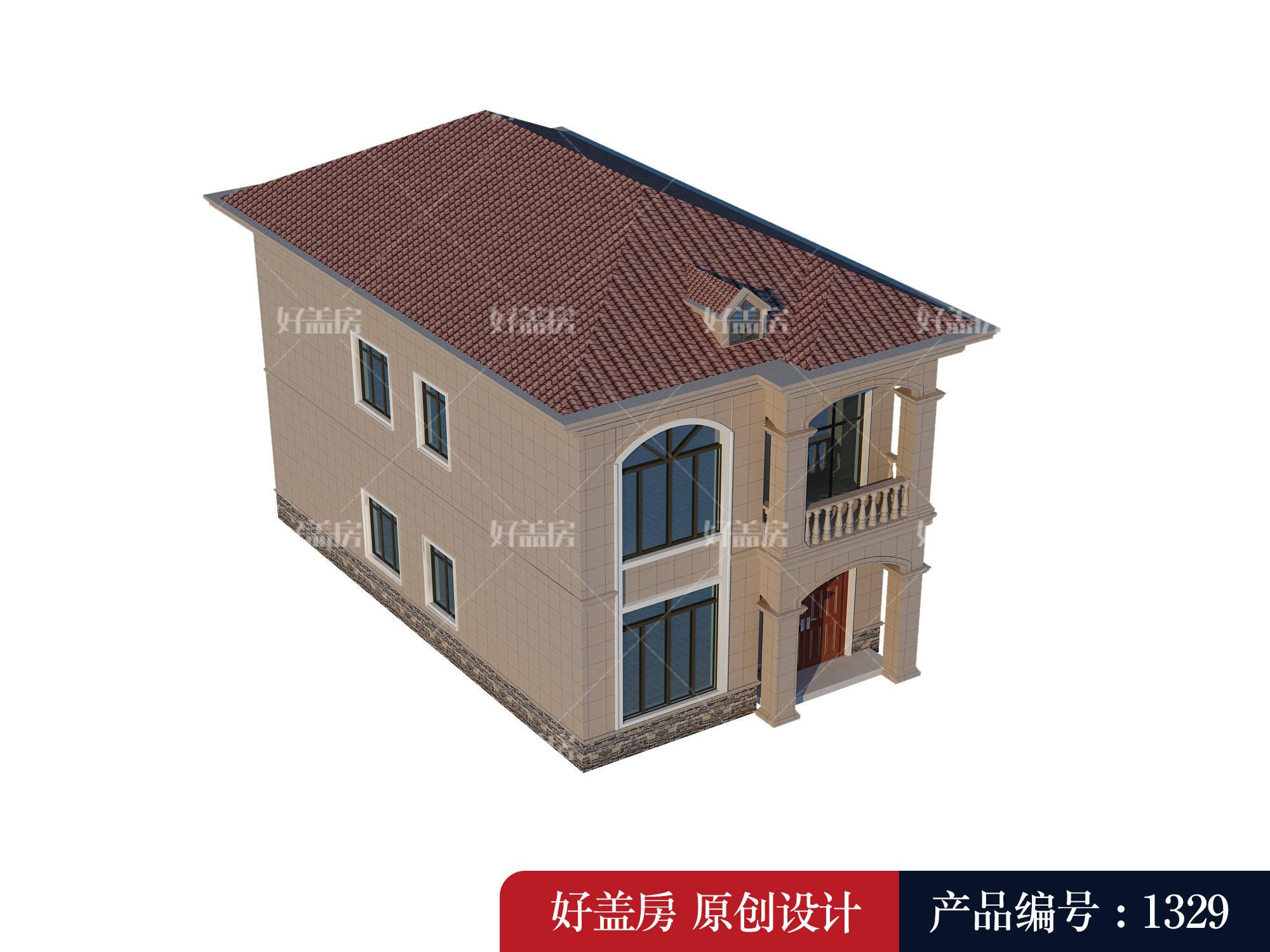 两间房子设计图 农村