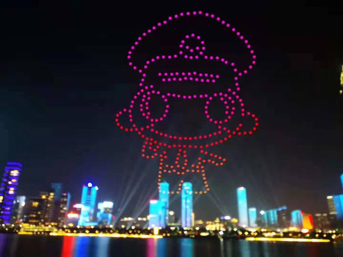 中秋国庆期间看了华丽的灯光秀吗?