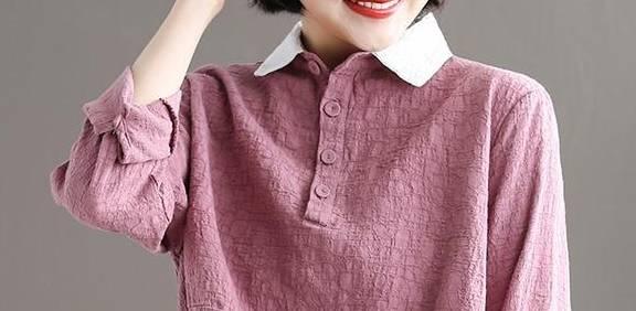 春游这么打扮 舒服又顺眼 80后女性穿的是减龄衬衫 优雅迷人