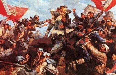 经过残酷的长征,红军的几家主要红色智