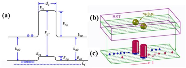 在p-型碲化铋合金中引入PbSe纳米颗粒可优化其热电性能