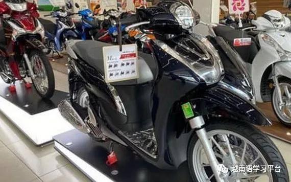 摩托车市场生意冷淡,越南各车行争相减价刺激销售