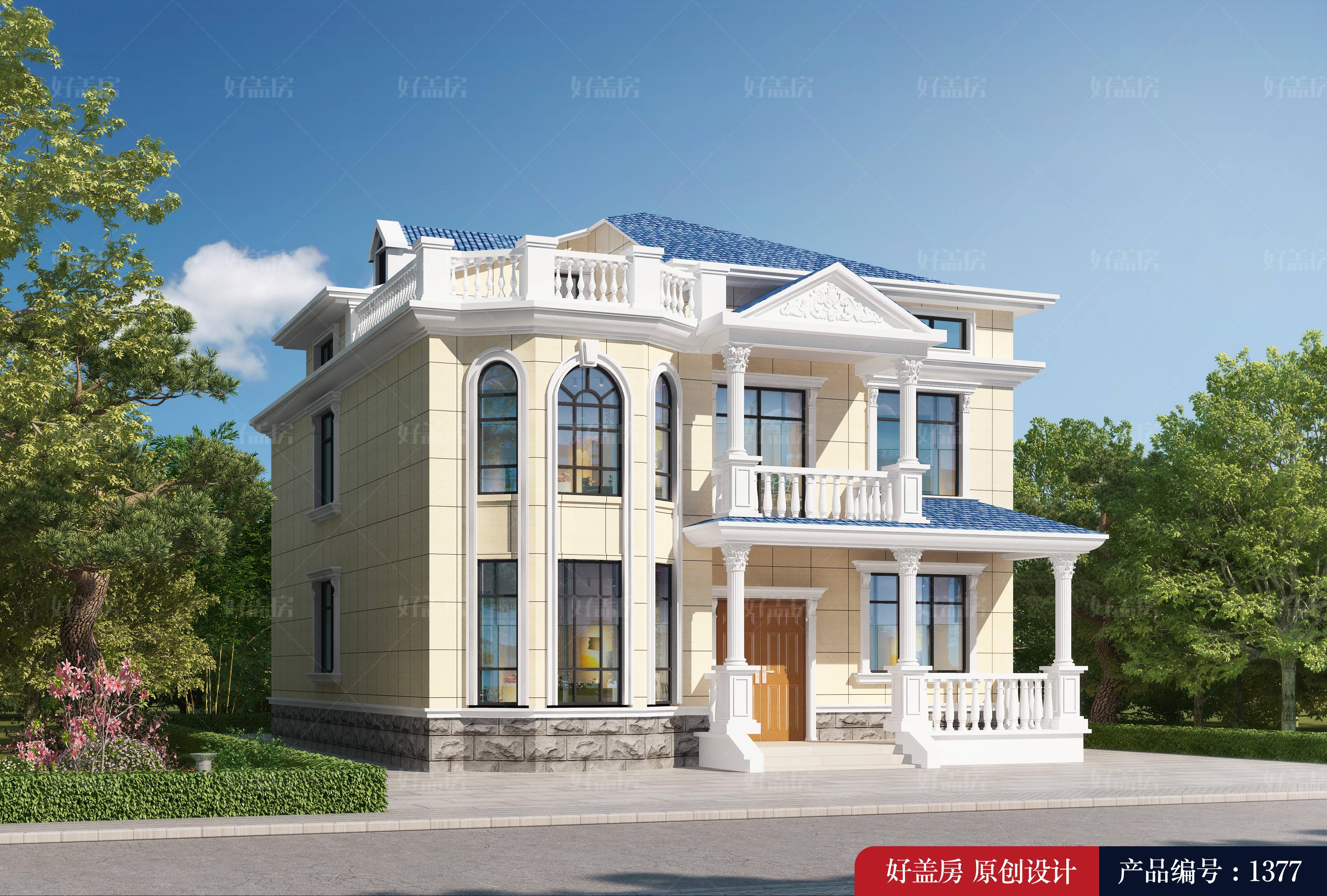 农村楼房设计图2层