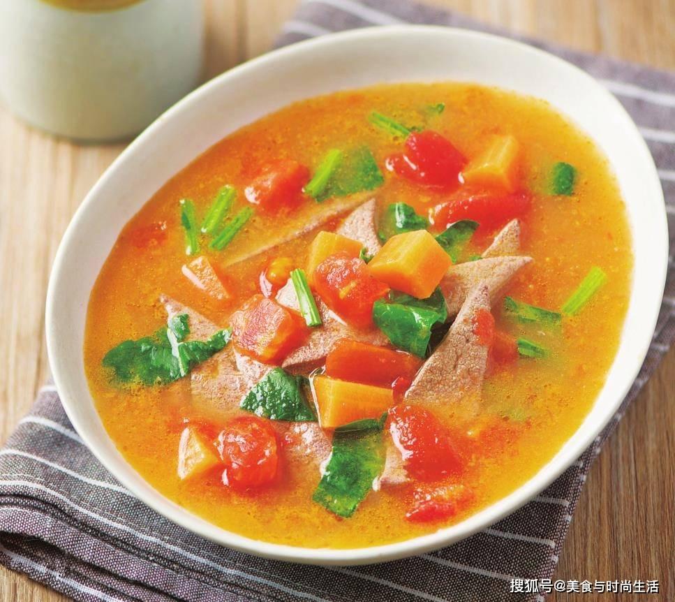 菠菜和这种食材是好搭档,补铁补血,护肝明目,搭配做汤,鲜美又营养