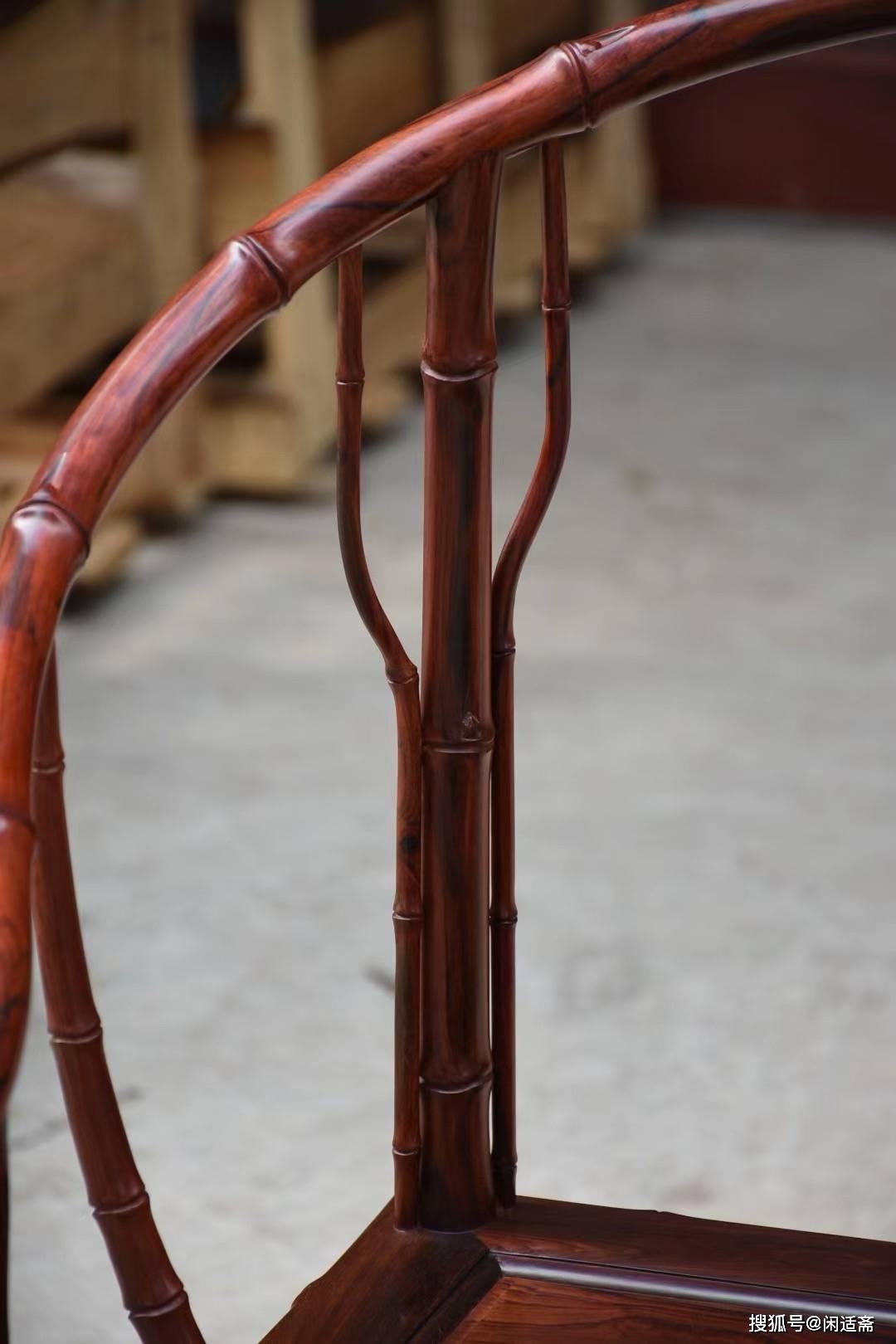 罗汉床配圈椅效果图