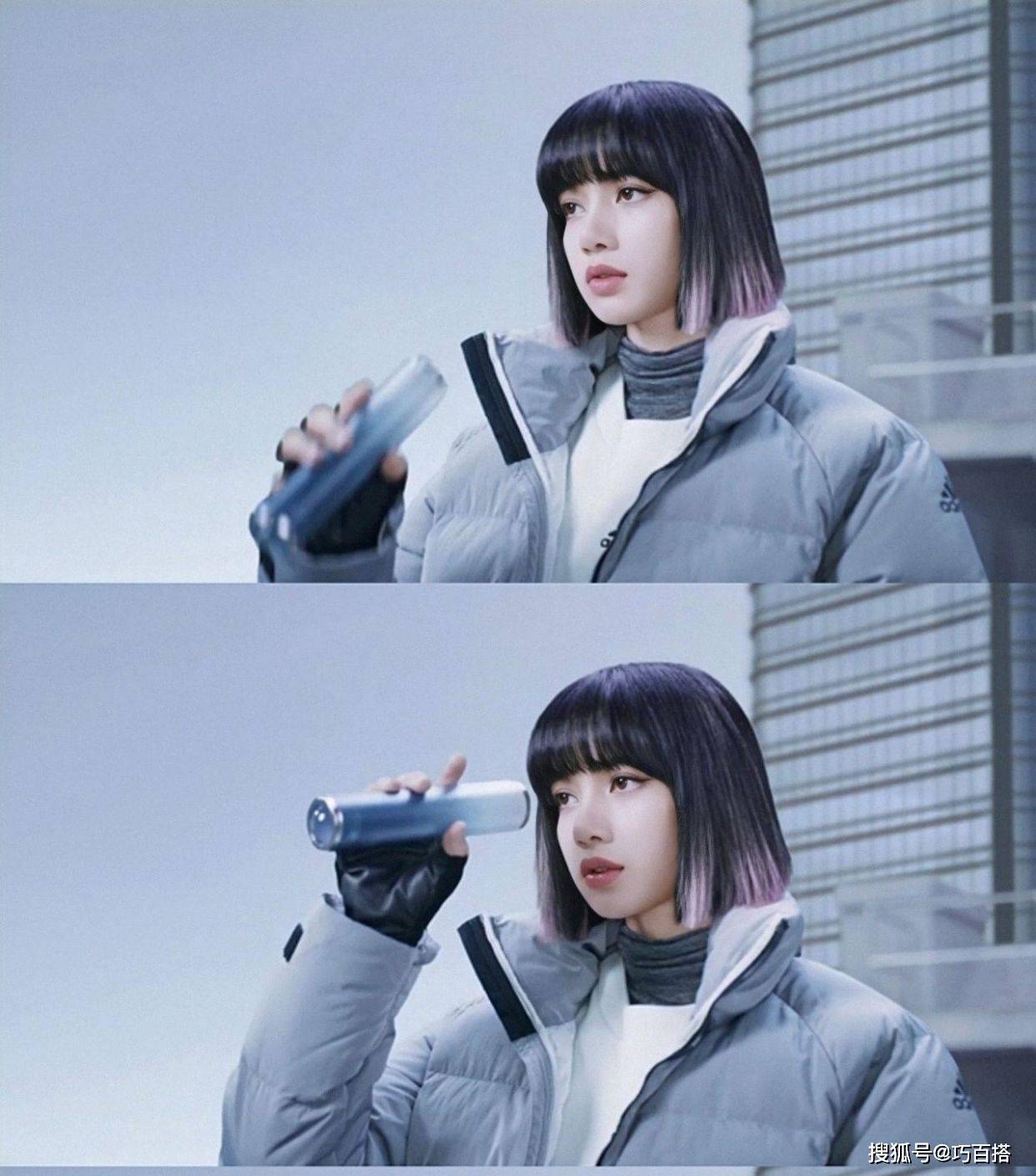 Lisa颜美就是任性!穿超厚棉服解锁冬日搭配,满屏都是高级感