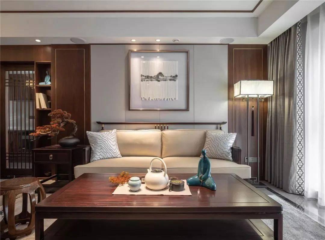 温州装饰公司展现了新中式装修风格的优雅之美