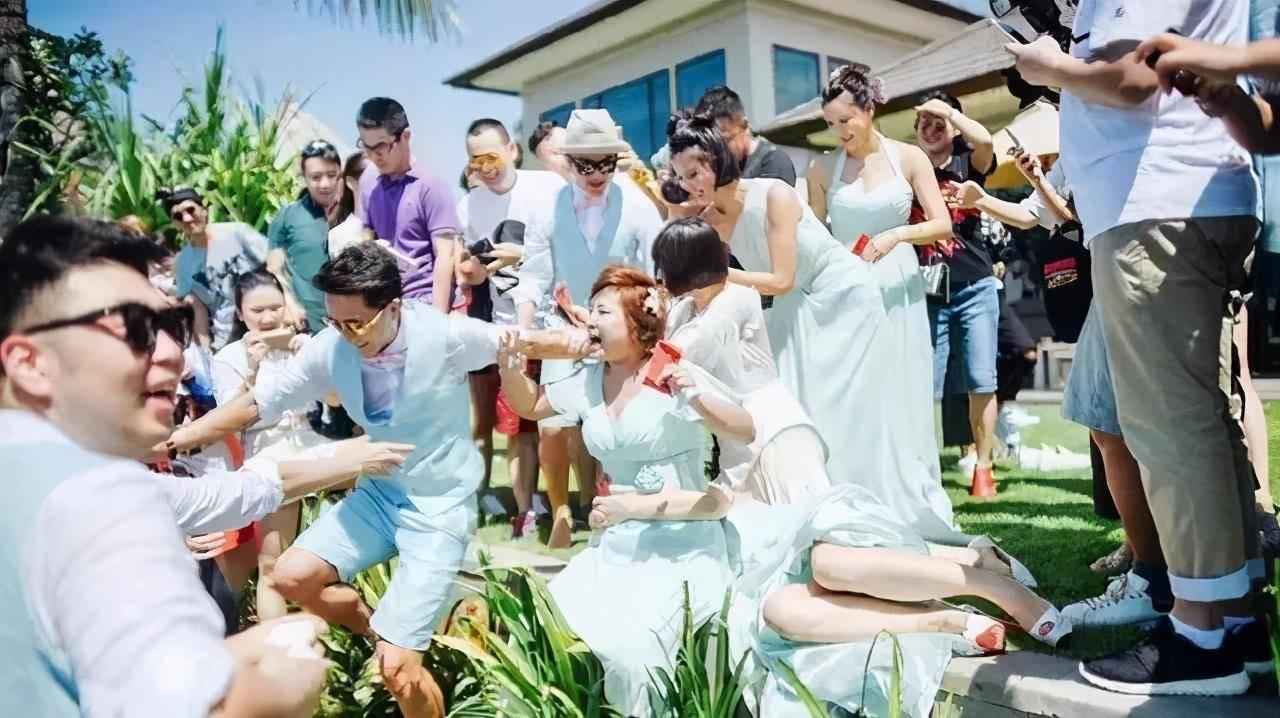 河南闹洞房新娘伴娘