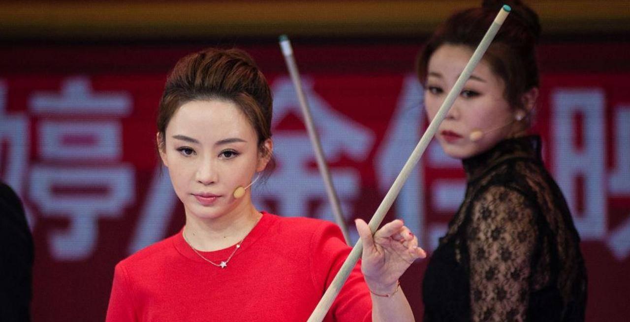 她是潘晓婷的好友,还是韩国台球女神,曾称想找中国的男朋友