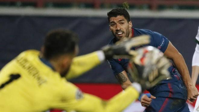 马竞欧冠客场1-1苏亚雷斯染黄官宣签下瓦伦铁腰转会费1100万欧