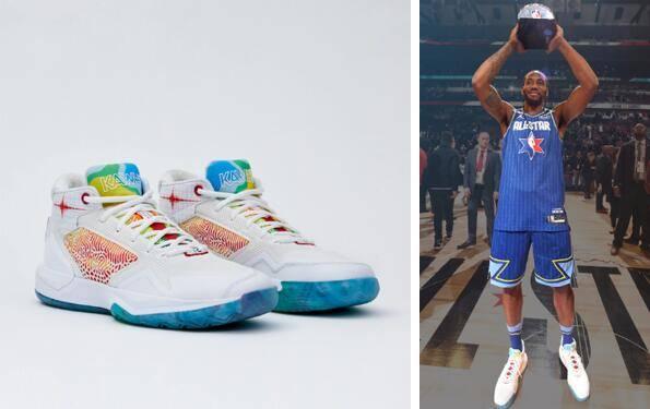"""全新""""The Kawhi"""" Seismic配色签名篮球鞋发布"""