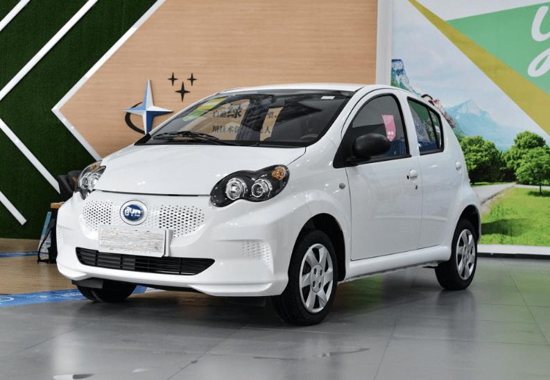 原创源于F0,E1成为最便宜的比亚迪纯电动汽车