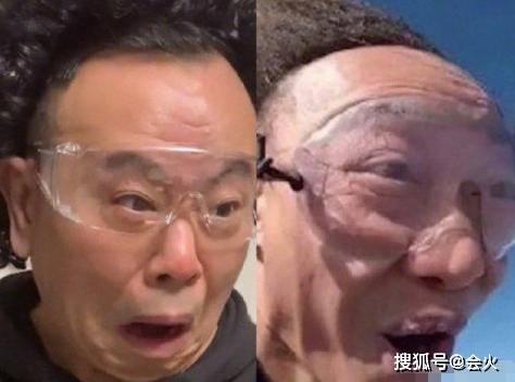 潘长江带头套模仿陈奕迅 女儿成10亿富婆后 63岁在家带外孙