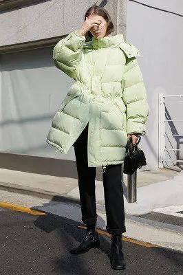 羽绒服时不时髦,就看你会不会穿了!_造型