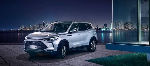六款北京品牌出现在广州车展上