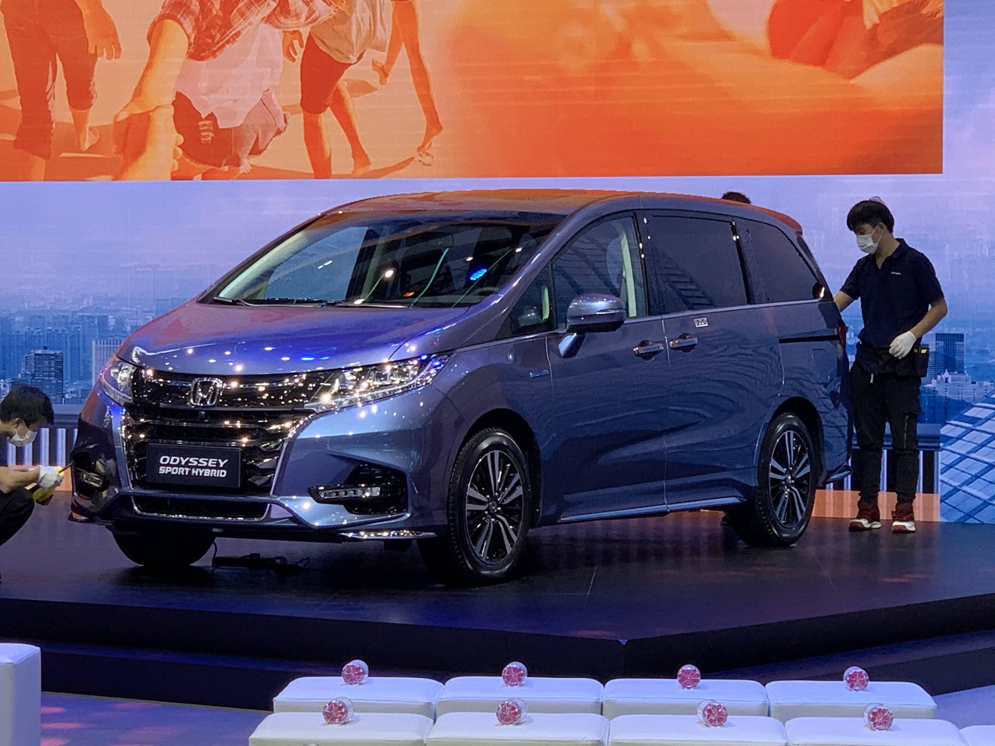 2020广州车展:新奥德赛已售出22.98万次