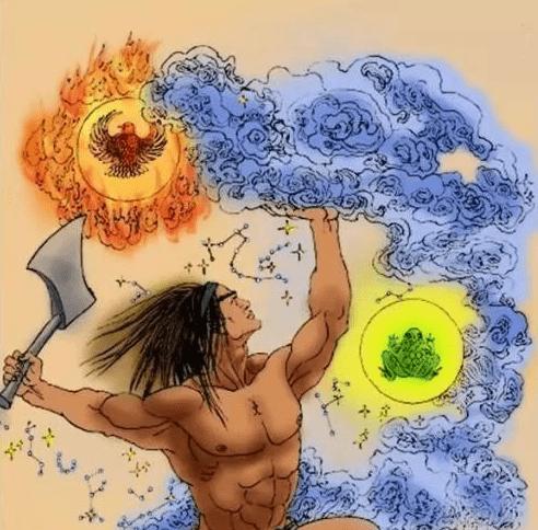 盘古开天辟地:这是一个中国的神话故事