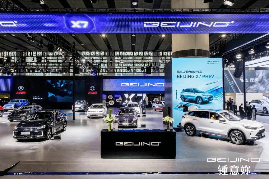 广州车展|北京-X7亮相广州车展。你喜欢李宁的画吗?