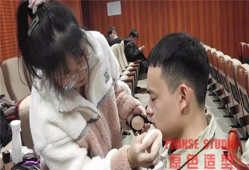 【化妆实践】11.22国家电网第五次代表大会