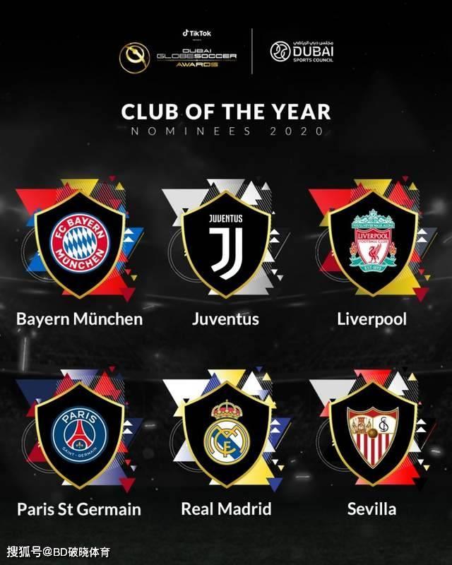 环球足球奖2020年各项提名出炉!还有近20年球员、教练评选