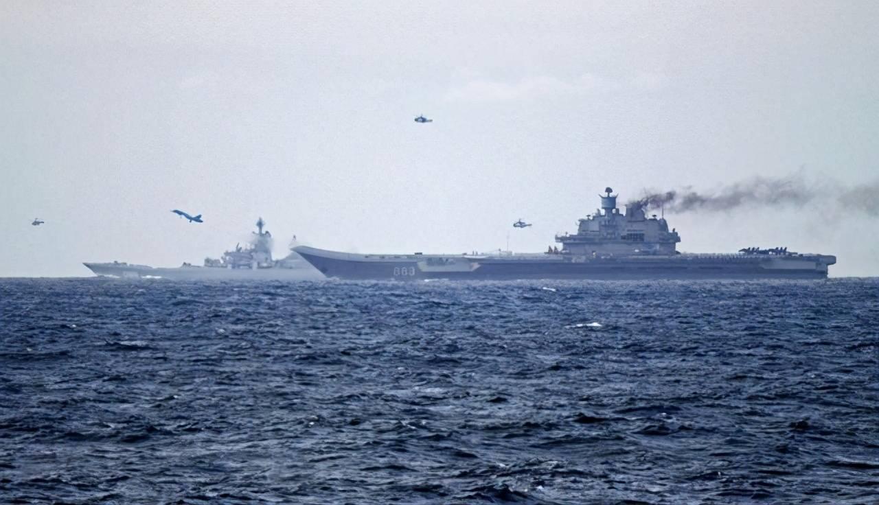 俄罗斯航母曝新照,俄罗斯暴躁网民:别修了,灌满水泥沉海底去