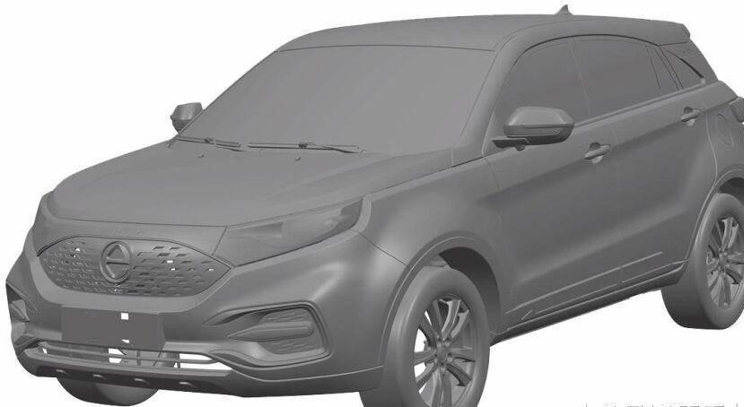 原来的燃油混合动力变成了福特的领先优势,纯电动版变成了江铃新能源E500。亮点是身体